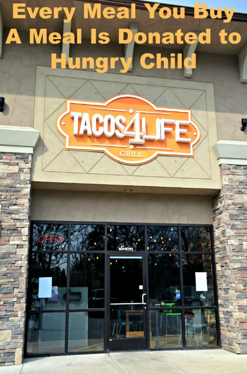Tacos4Life - Every Meal You Buy A Meal Is Donated to Hungry Child