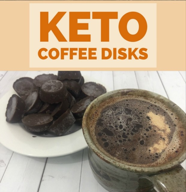 keto coffee disks via juliedkohl.com