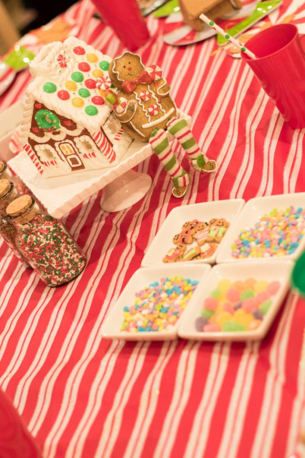 Gingerbread Decorating Party Ideas via Jennifer Maune