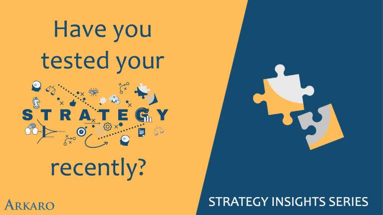 Have you tested your strategy recently?