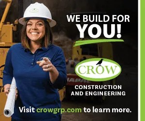 Crow Construction and Engineering Advertisement