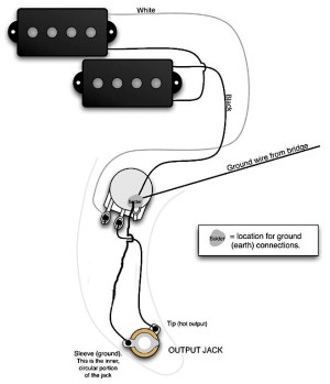 Fender Precision Bass Wiring Diagram  Somurich