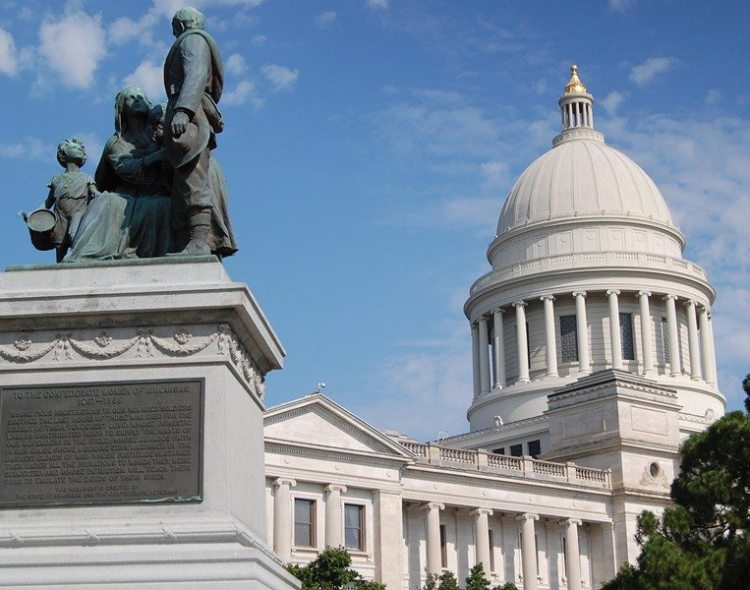 DEMOCRATIC PARTY OF ARKANSAS REJECTS CONFEDERATE MONUMENTS ON PUBLIC GROUNDS