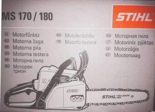 How To Build The Stihl 180 Correctly