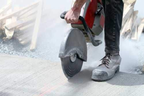 How to Saw Concrete Angle Grinder Without Dust