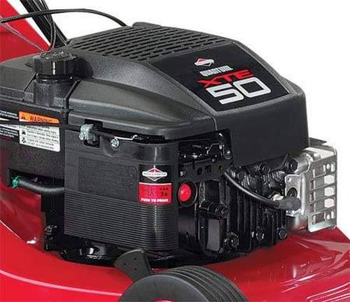 What a Huter Lawn Mower Engine