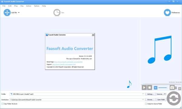 Скачать Faasoft Audio Converter аудио конвертер на русском