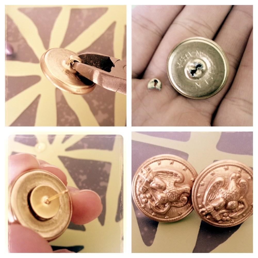 DIY Vintage Chanel Inspired Earings (2/2)