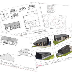 New home building drawings