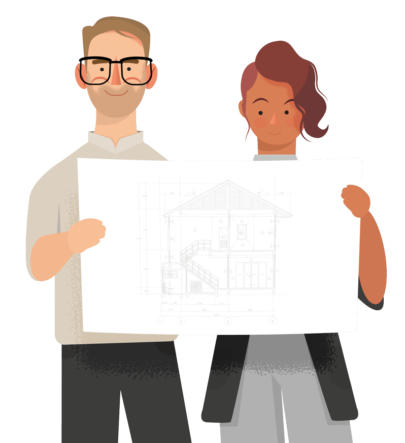 Online building plans and drawings