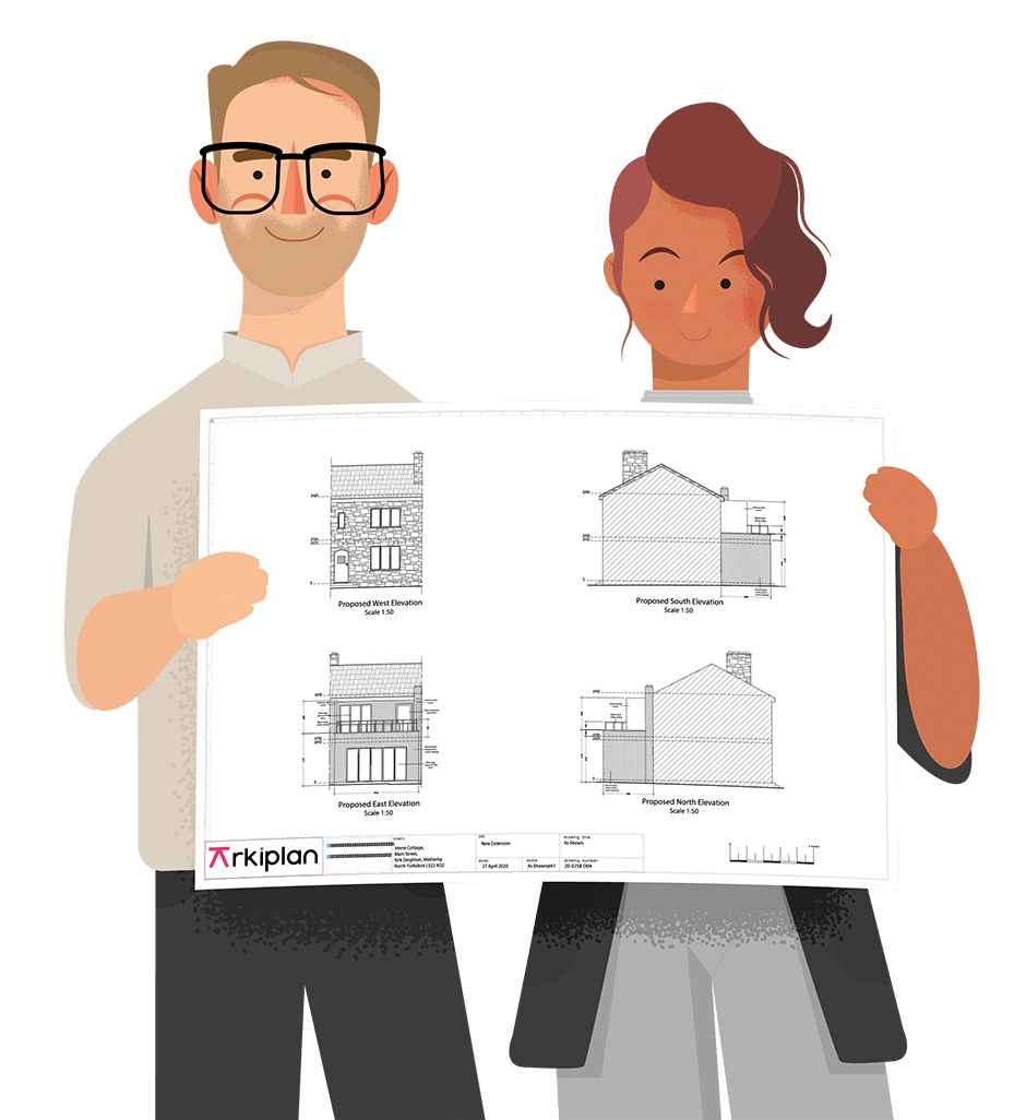 Online planning drawings Arkiplan