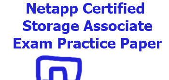 Netapp Certified Storage Associate - practice exam