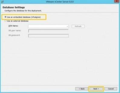 8-Database Settings