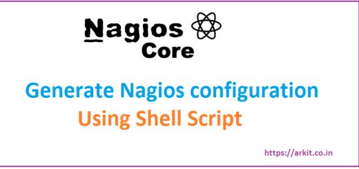 Generate Nagios Configuration Using Shell Script - 1000 Configs 1 Minute
