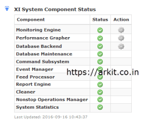 Nagios XI not fully functional Services Stopped state