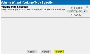 volume-type-selection