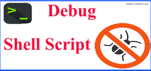 debug shell script easily identify errors improvements