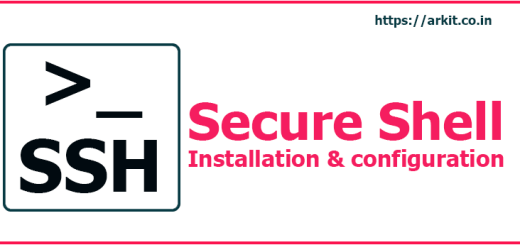 SSH Server Secure Shell Installation and Configuration