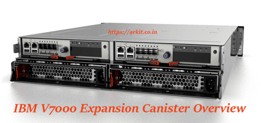 IBM V7000 Expansion Canisters Hardware Overview explained