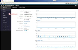 RHVH Options and Performance Monitoring