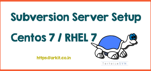 subversion server setup Linux SVN Server