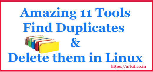 Amazing Tools Find Duplicate files and remove them
