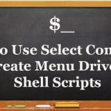 HowTo Use Select Command Create Menu Driven Shell Scripts