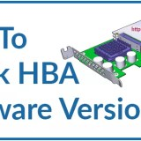 How to check HBA Firmware and Driver Version in Linux