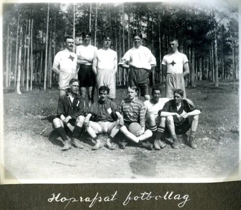 Hoprafsat fotbollslag