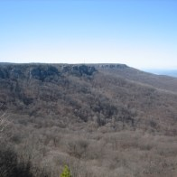 Another view of Mount Magazine from Cameron Bluff