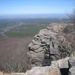 View from Mount Magazine's Cameron Bluff