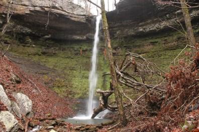 Highway 123 Falls (Ozark Forest) photo