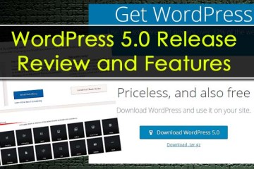 Wordpress 5.0 Review, Release Date, Problem and Gutenberg Beta