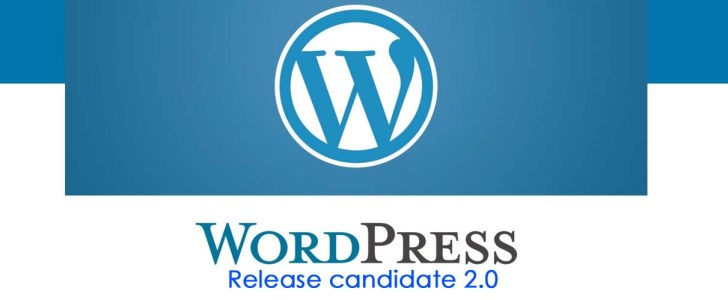 word press 5.0 beta release candidate 2