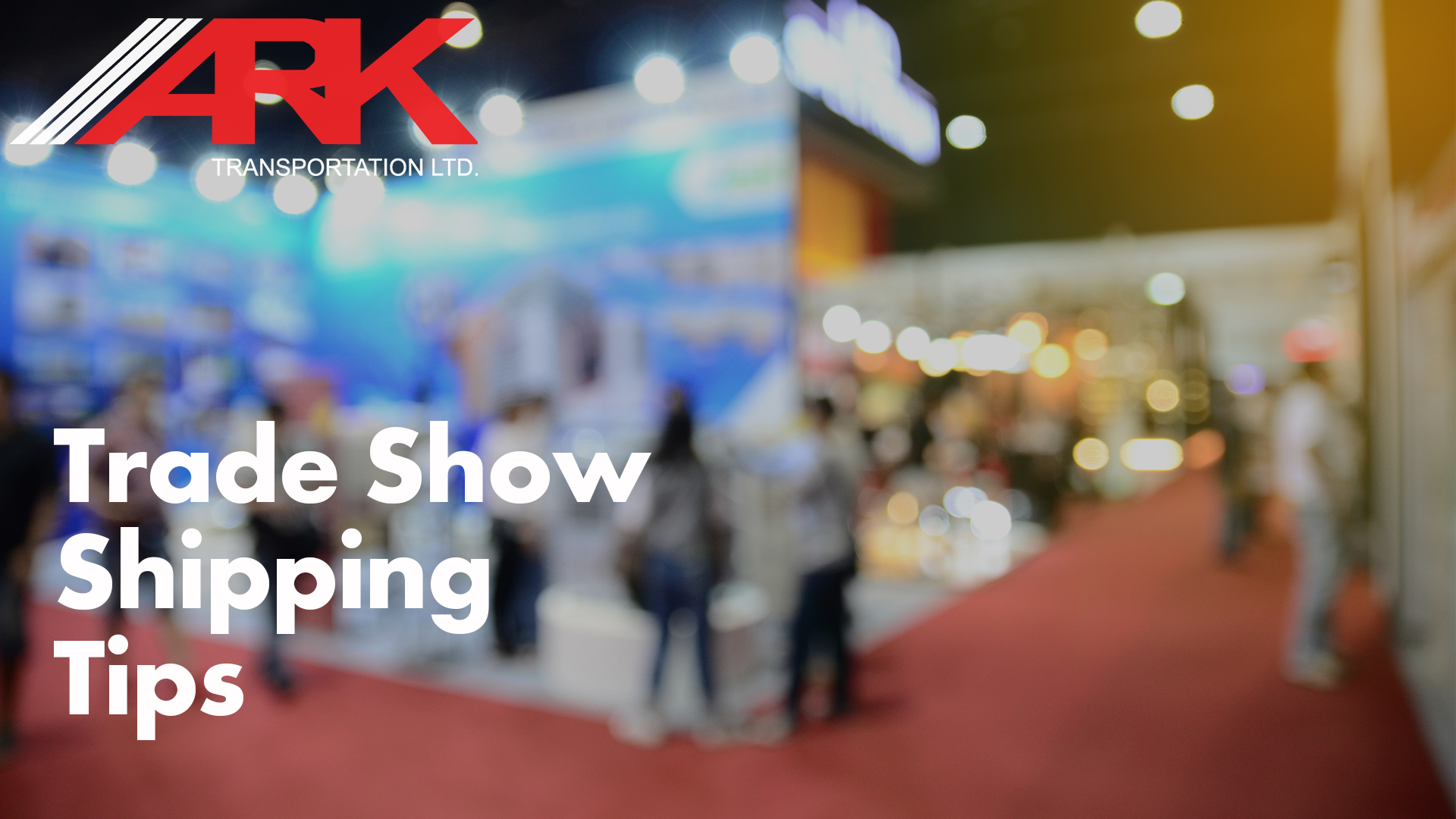 Tips for trade show shipping, know your show, know your freight