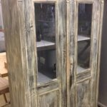 vintage painted cabinet cupboard