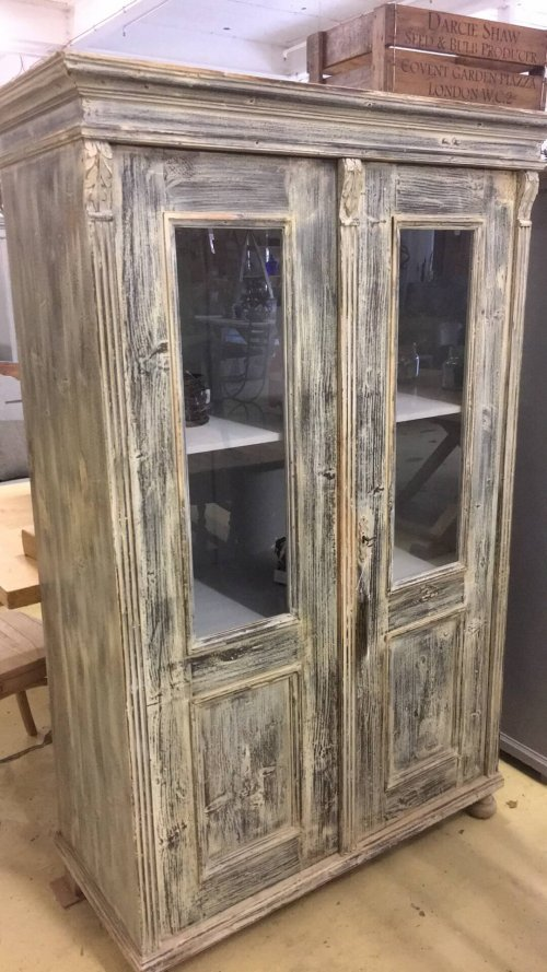 vintage painted cabinet cupboard