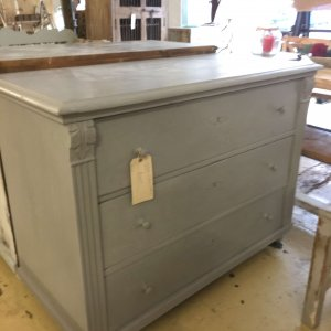 vintage, chest of drawers, painted, French, furniture, storage, Surrey, buy