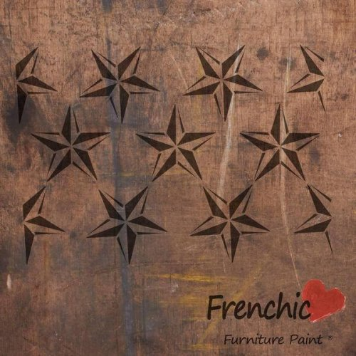 Stencil by Frenchic paint