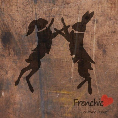 paint Frenchic stencils
