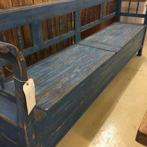 Original vintage bench from France