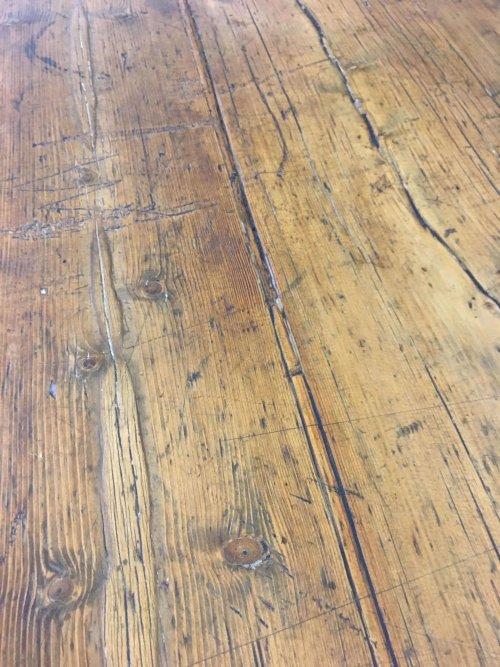 Sideboard, original Victorian pine.