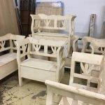 Bench storage selection at arkvintage