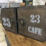 Industrial Style Metal Cabinet