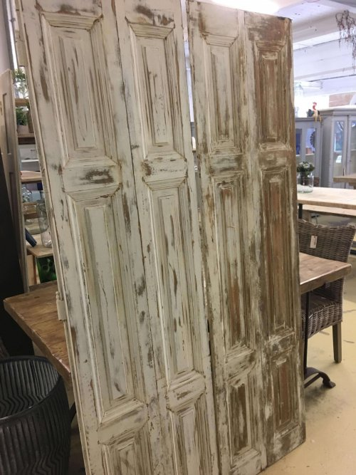 Vintage shutters, from France.
