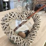 Rattan Wicker Hearts, beautiful decoration items.