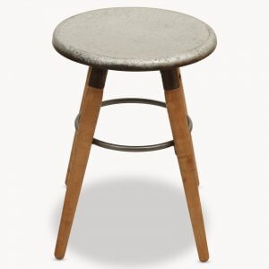 stool seating metal industrial dining