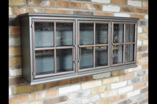 Metal 3 Door Wall Cabinet industrial cupboard storage