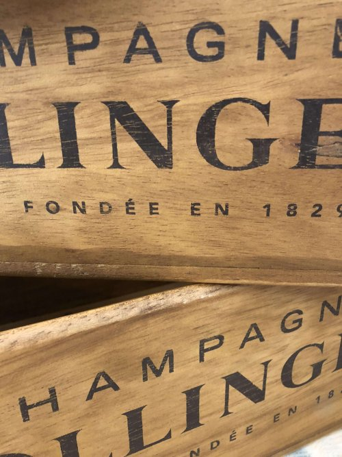 Wooden Stencilled Boxes from arkvintage.com. Beautifully made, very useful boxes in 5 sizes. They look a treat in the kitchen, can be used for cutlery or oils and sauces on the table in side or al fresco at a BBQ!