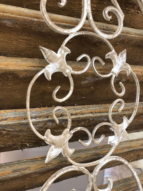 Wall Planters from arkvintage. These hanging metal wall planters come in 2 sizes